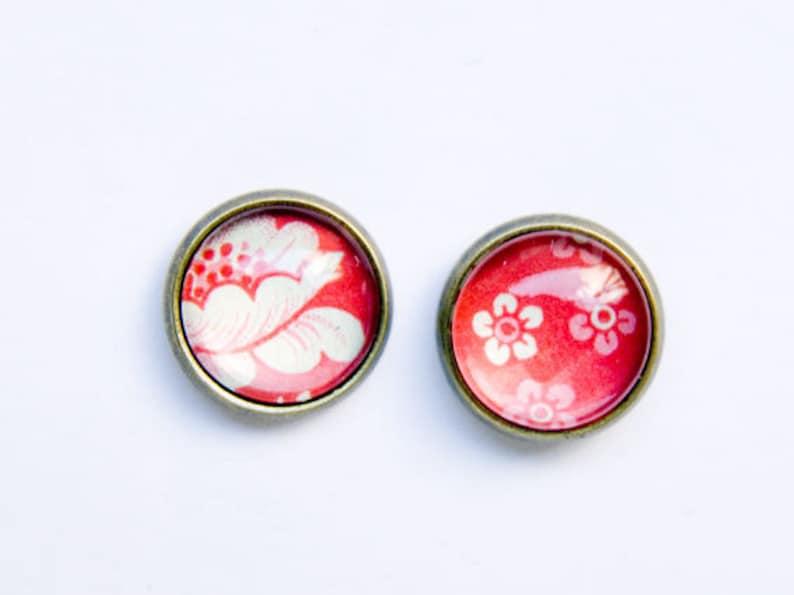 Earrings Flowers image 1