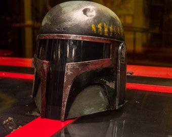 Mandalorian Mercenary Helmet Customizable*** (Star Wars, Empire Strikes Back, A New Hope, The Last Jedi, No Incinerations,