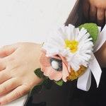 Handmade Felt Flower Corsage
