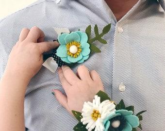 Felt Flower Corsage