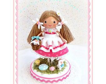 Bunny Cake Topper Cake Topper Birthday Cake Topper Baby Etsy