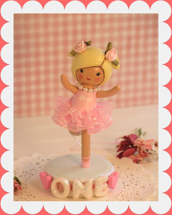 Astonishing Ballerina Cake Topper Ballerina Birthday Dance Birthday Etsy Personalised Birthday Cards Paralily Jamesorg