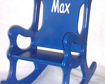 Children's Rocking Chair - Blue