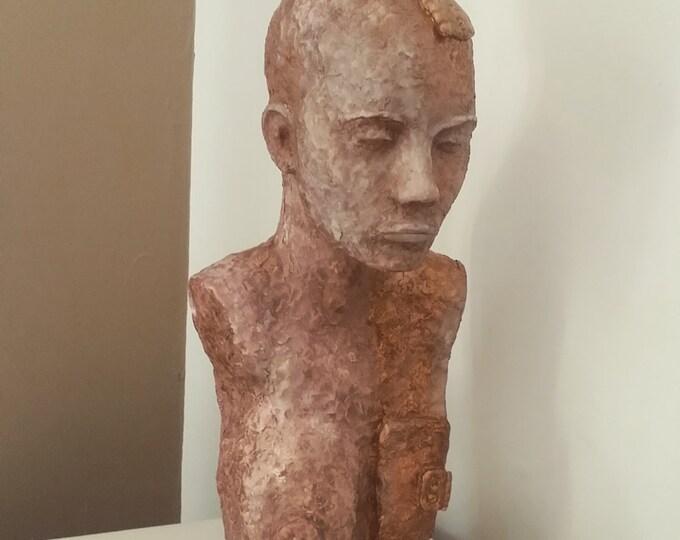 Ubiquity III - mixed media sculpture