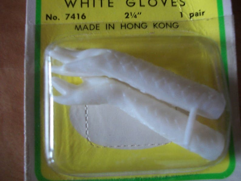 Specialty Plastic Lady Doll Gloved Arms **