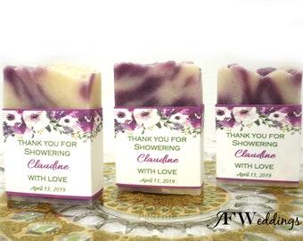 Bridal Shower Soap Favors, Soap Favors for Weddings, Shower Soap Favors, Handmade Soap Favors, Baby Shower Favor