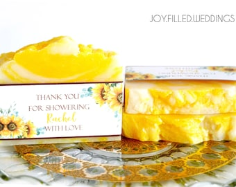Bridal Shower Favors - Soap Favors - Bridal Shower Soap Favors -  Soap Favors - Personalized Soap - Party Favors (10 MEDIUM Soap Favors)
