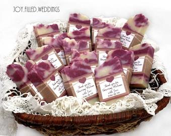 Wine Soap Favors, Soap Favors for Weddings, Bridal Shower Soap Favors, Handmade Soap Favors, Baby Shower Favor, Burlap Soap Favors