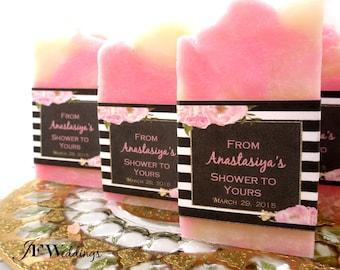 Bridal Shower Soap Favors, Soap Favors for Weddings, Shower Soap Favors, Handmade Soap Favors, Baby Shower Favor, Graduation Favors