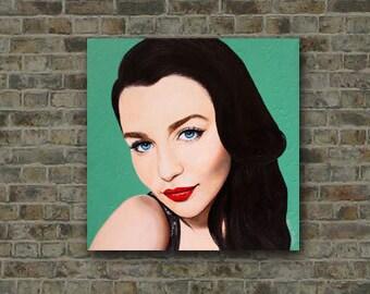 A Modern Classic - Beauty Art -  By Mixed Media Artist Malinda Prud'homme