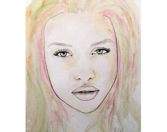 Of Colour And Beauty - Pink - Beauty Art - By Mixed Media Artist Malinda Prud'homme