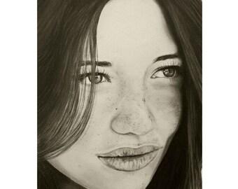 A Mark Of Beauty - Beauty Art - ART PRINT - 8 x 10 - By Mixed Media Artist Malinda Prudhomme