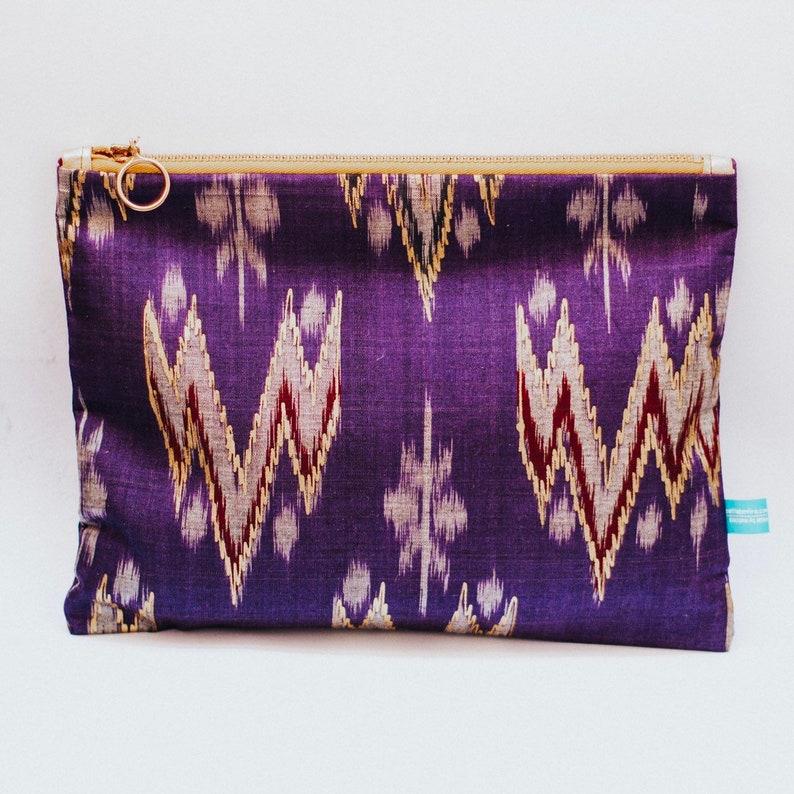Purple Bali pouch image 0