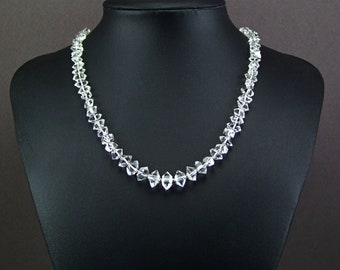Genuine Herkimer Diamond Necklace - N905A