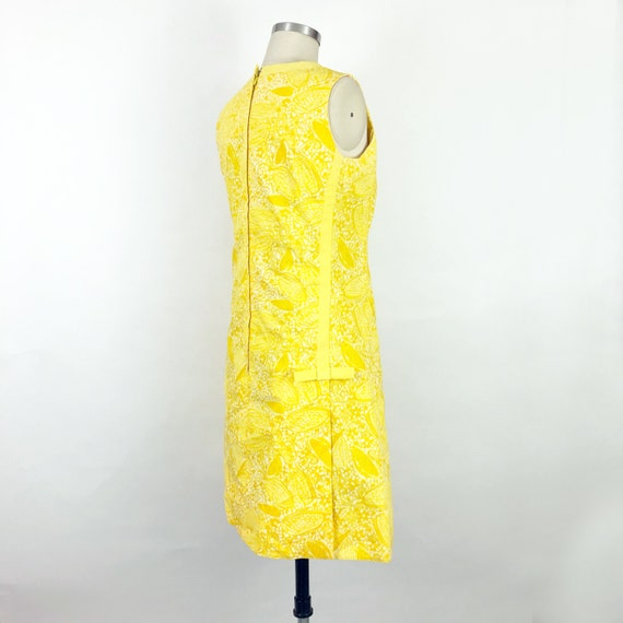 1960's Yellow Butterfly Print Lilly Pulitzer Dres… - image 5