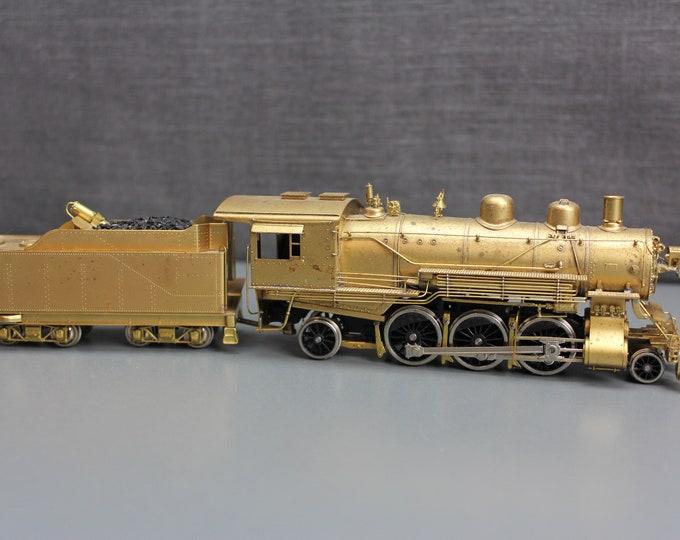 Vintage Fujiyama HO Scale Brass 2-6-2 Northern Pacific Class T-1 Prairie Steam Locomotive