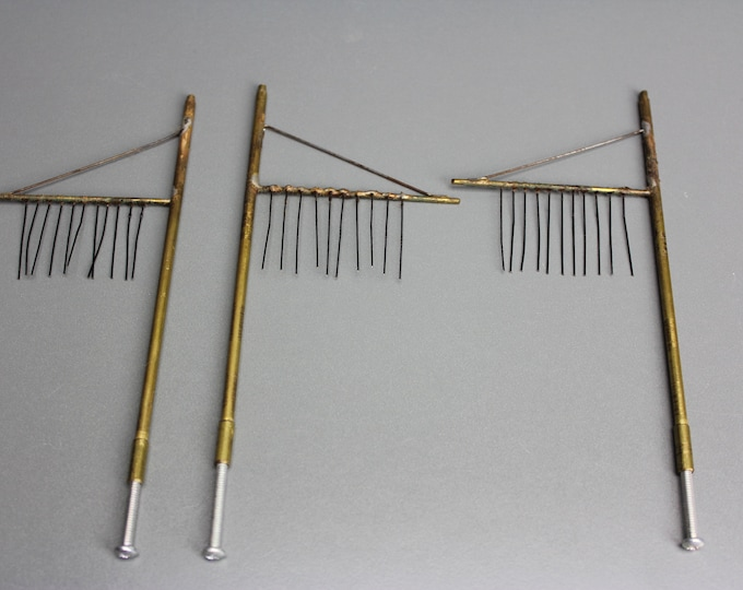 Vintage HO Scale Brass Telitale (Not sure if it is for HO) 3 Pcs.