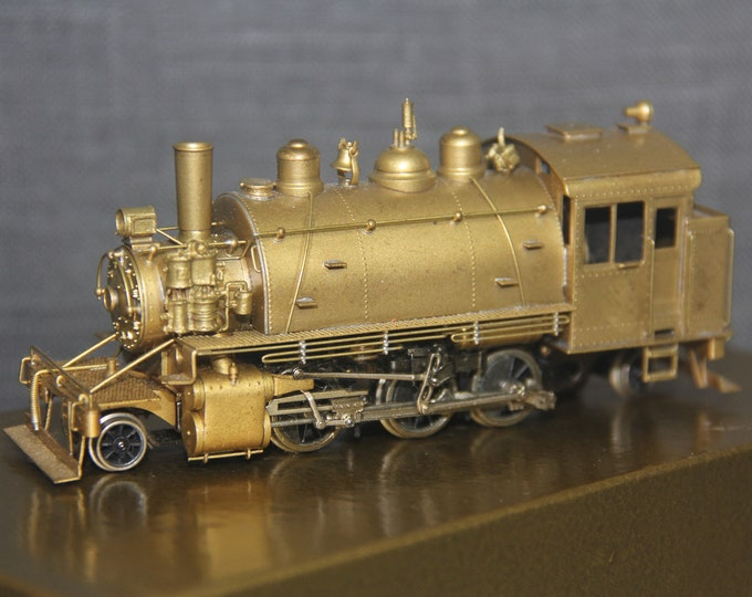 Vintage NWSL HO Scale Brass Peninsula Terminal 2-6-2T Toby Logging  Locomotive Japan Train Hobby