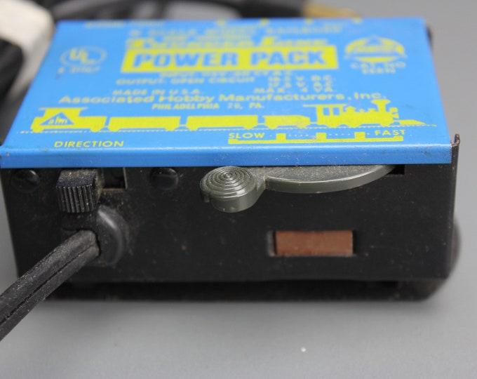 Vintage Thunder Line Power Pack 70105 N Scale 120V Hobby Transformer