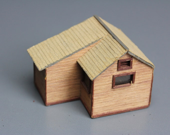 HO Scale Finished Model 1 House Buildings for your Model Train Hobby
