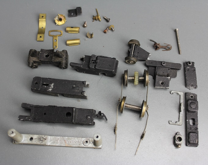 Vintage Brass & Metal HO Scale Mantua Parts