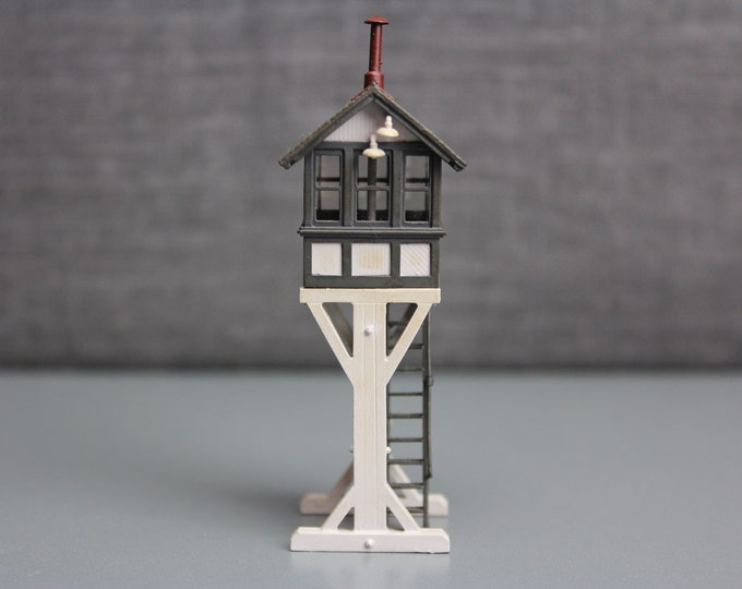 Vintage Brass HO Scale BLI 160 Switch Tower Building for your Train set