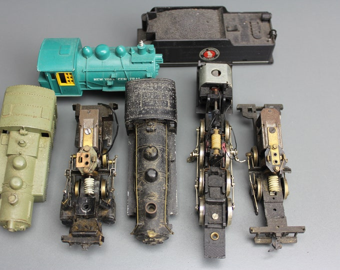 Vintage HO Scale Motors and Shells for Parts