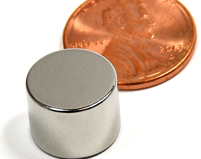 """MagnaKoys®  1/2"""" x 3/8"""" (12.7mm x 9mm) POWERFUL Neodymium Rare Earth Disc Magnets for Crafts, Geocaching, survival gear"""
