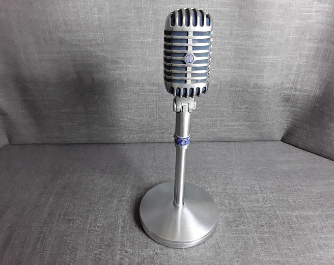 Vintage Shure 55S Dynamic Unidyne Cardioid Elvis Microphone Unique Serial Number