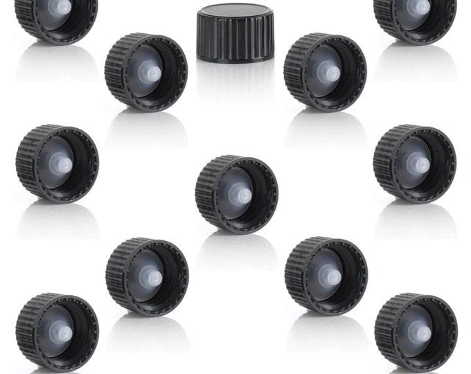 200 pieces 1 dram polycone caps - Sandoval