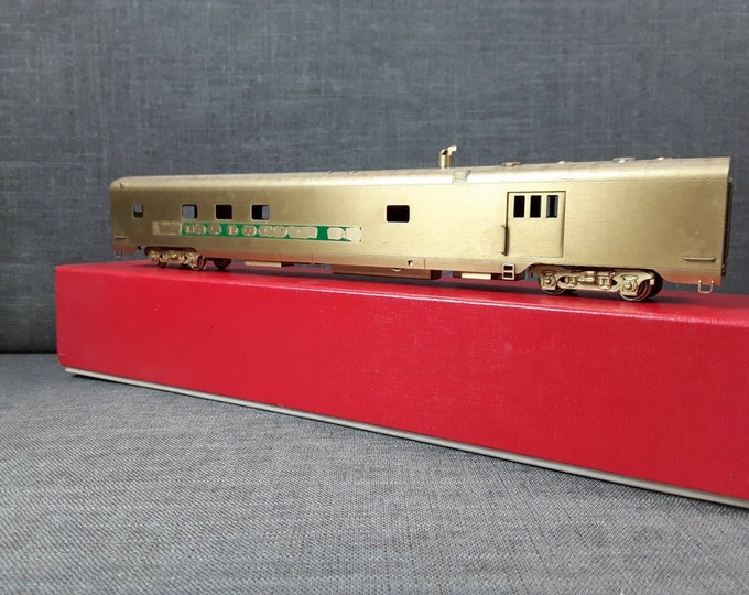Vintage SOHO & Co. HO Scale BRASS Great Northern #1200 Baggage - Dormitory