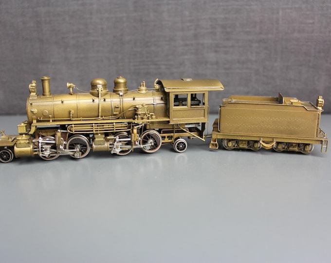 Vintage GEM Models IM-105 Brass HO 2-4-4-2 Baldwin Mallet Logging Locomotive & Tender