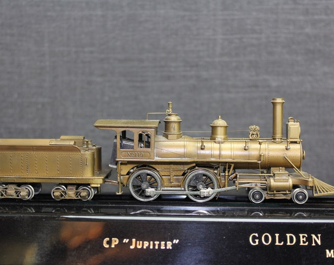 Vintage Brass United PFM Golden Spike Centennial Steam Locomotives HO Scale