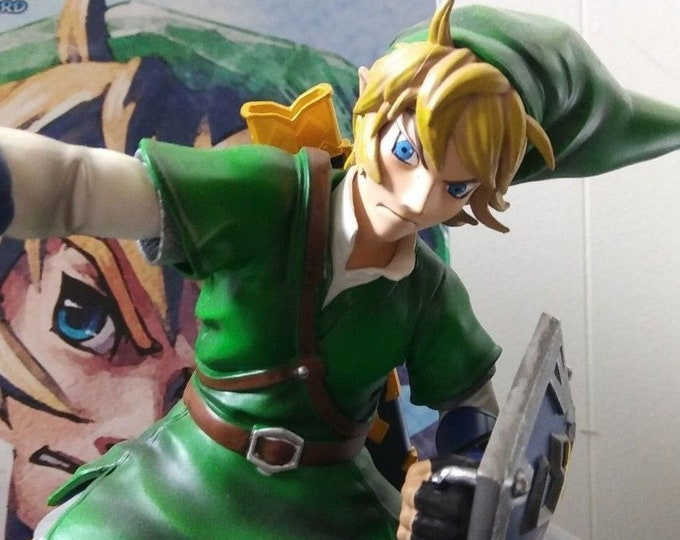 Legend of Zelda Skyward Sword 8 Inch Statue Figure - Link  by First 4 Figures