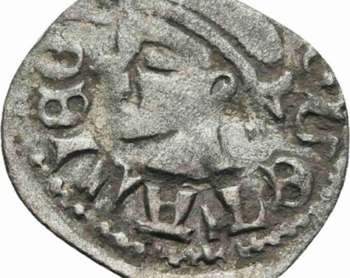 Ancient Coin of HUNGARY DENAR Bacardi Ludwig I. 14.Jhd. sarrazene i2030