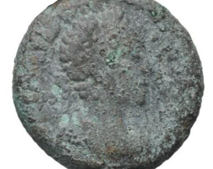 Vintage Ancient Roman Coin Severus Alexander EGYPT Alexandria Bill tetradrachm i3246