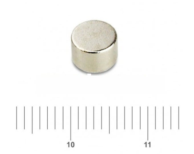 """MagnaKoys® 18 Pcs. Powerful 6mm x 4mm (aprox. 1/4"""" x 5/32"""") Rare Earth Neo Disc Round Magnets Crafts & Hobbies"""