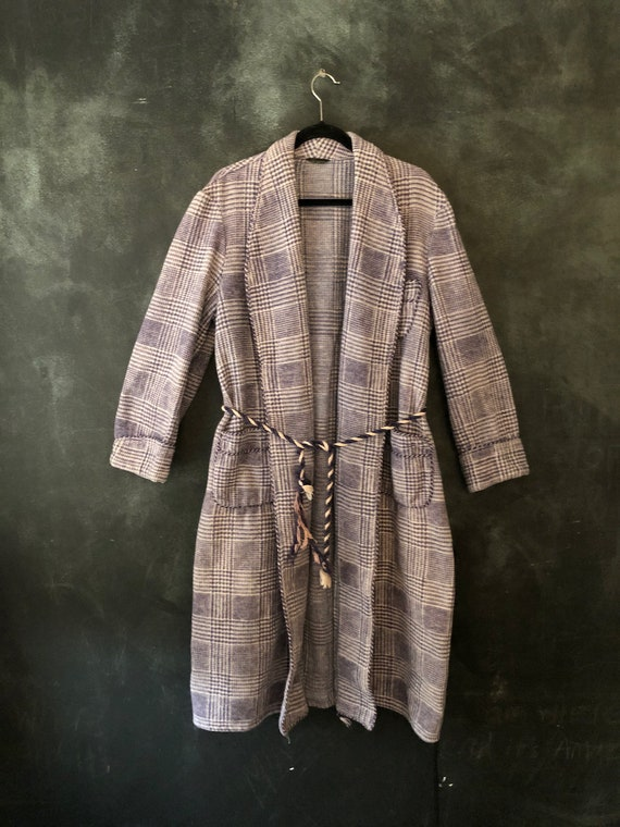 1940's 50's Beacon Woven Cotton Flannel Houndstoot