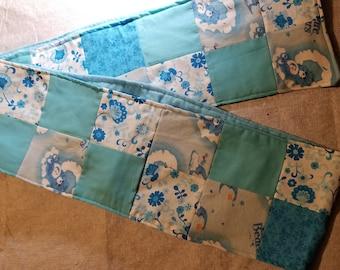 Care Bears Bedtime Bear patchwork scarf