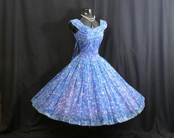 Vintage 50s Prom Dress Pinterest Etsy
