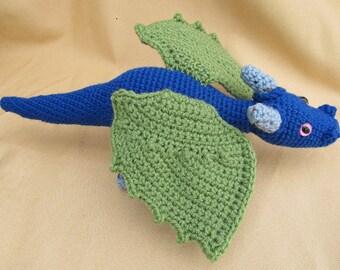 Snap the Dragon Crochet Amigurumi Pattern