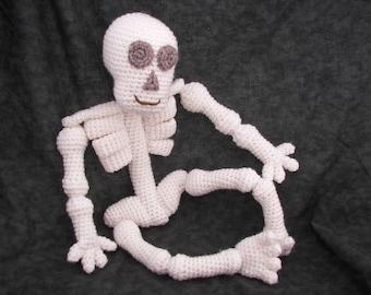 Knobby Knees Skeleton Crochet Pattern