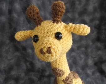 Giraffie Giraffe Crochet Amigurumi Pattern