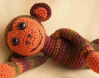 Spunky Monkey Crochet Amigurumi Pattern