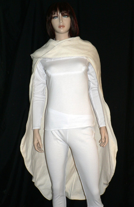 & Star Wars Padme White Battle Outfit Cosplay Custom Made Padme
