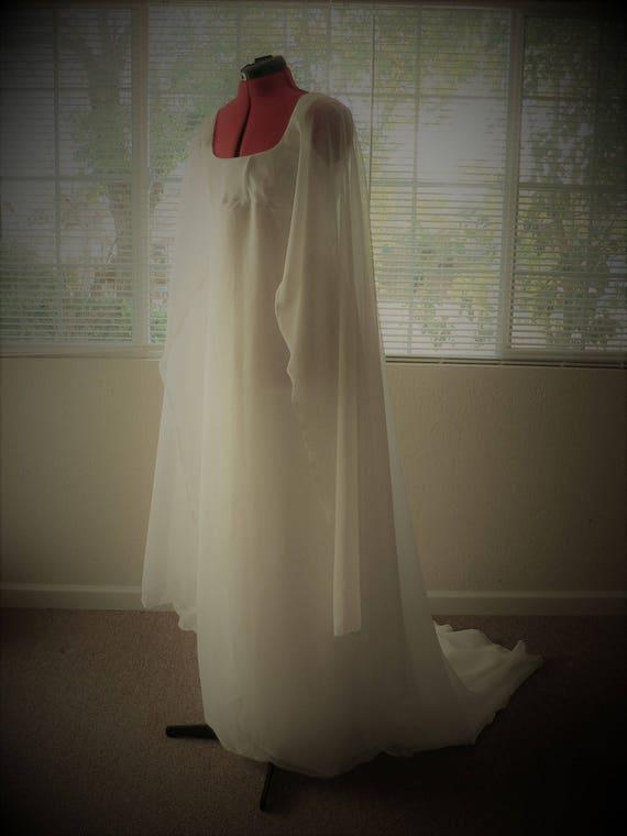 Star Wars Princess Leia Ceremonial Inspired Wedding Gown Star | Etsy