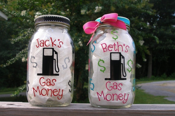 Gas Money: How old is too old? | No Car Go |Gas Money Jar Pottery