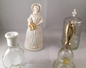 Lot of Vintage Avon Perfume Bottles