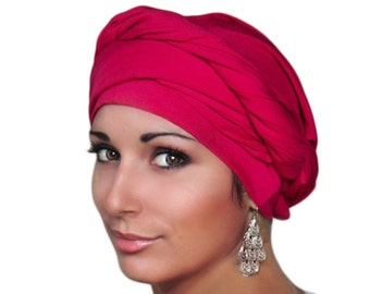 Purple-Pink Turban WRAPS