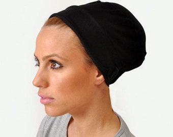 Turban Volumizer, Tichel Volumizer, Black or White 1001